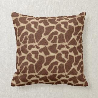 La piel de la jirafa mancha 2 almohadas