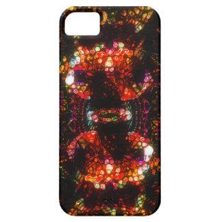 """La piel del teléfono celular de """"Glitterati"""" Funda Para iPhone 5 Barely There"""