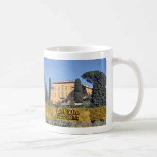 La Pietra Florence Italy Classic White Coffee Mug