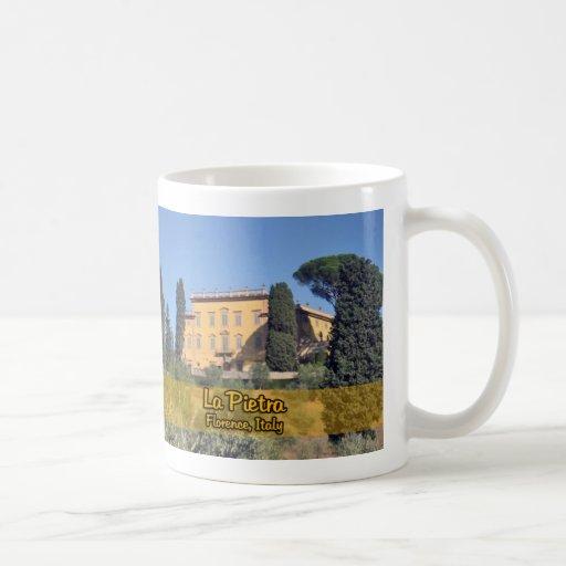 La Pietra Florencia Italia Tazas De Café