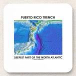 La pieza más profunda del foso de Puerto Rico de Posavasos De Bebidas
