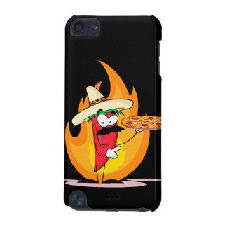 La pimienta de chile de Chile del sombrero soporta Funda Para iPod Touch 5G