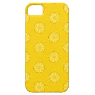 La piña amarilla corta el modelo iPhone 5 coberturas