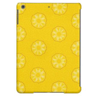 La piña amarilla corta el modelo funda para iPad air