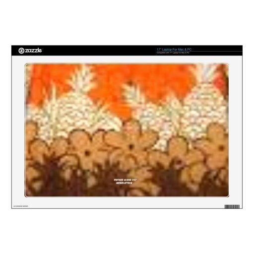 La piña coloca (la impresión de la hawaiana del vi skins para portátil