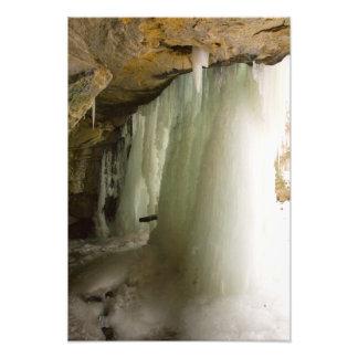 La pintada cae en el invierno, Dundee, Ohio Arte Fotográfico