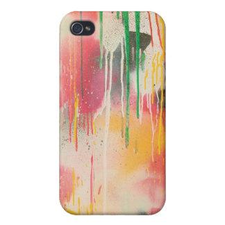 La pintada de Howell gotea la caja del iPhone 4 iPhone 4/4S Carcasas