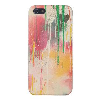 La pintada de Howell gotea la caja del iPhone 4 iPhone 5 Fundas