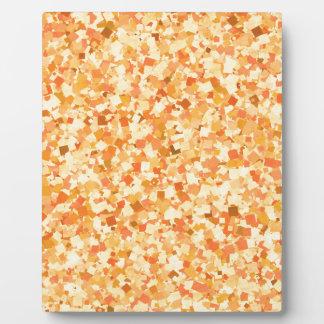 La pintada de oro del confeti de la plantilla DIY Placa De Madera