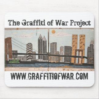 La pintada del proyecto de la guerra: Serie 9/11 d Tapetes De Raton