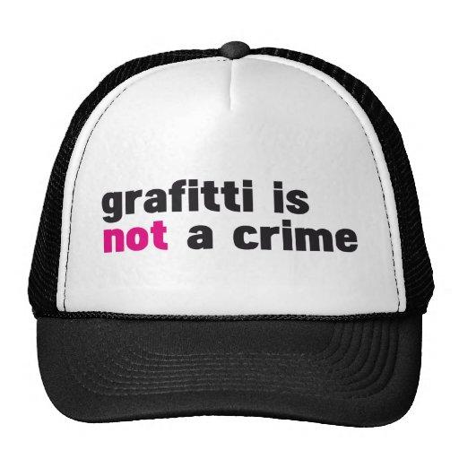 La pintada no es un crimen gorras