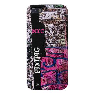 La pintada rosada de Soho añade el caso del iPhone iPhone 5 Carcasas
