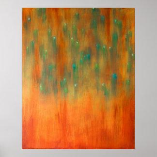 """"" La pintura abstracta de vuelta de la burguesía Póster"
