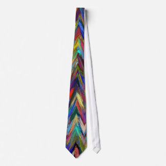 La pintura abstracta diseñó el fondo corbata personalizada
