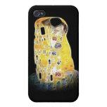 La pintura amarilla de Gustavo Klimt Digital del b iPhone 4 Cobertura