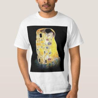 La pintura amarilla de Gustavo Klimt Digital del Playera
