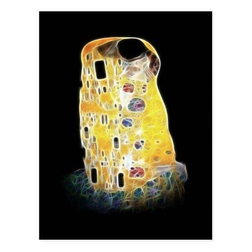 La pintura amarilla de Gustavo Klimt Digital del Tarjetas Postales