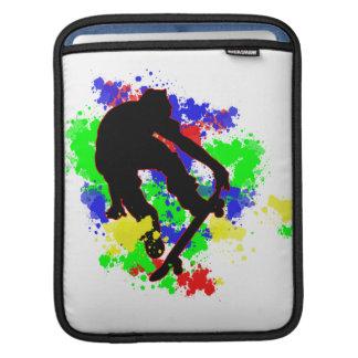 La pintura de la pintada mancha el monopatín funda para iPads