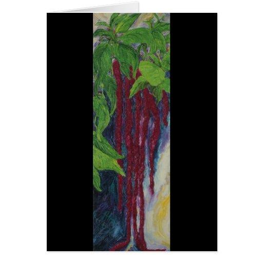 La pintura de la sangría de Lovelies que piensa en Tarjeton