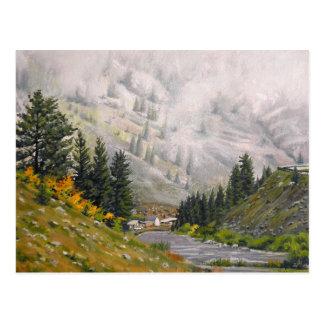 La pintura de paisaje del aceite de Taylor Tarjetas Postales