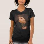 La pintura del conejo camisetas