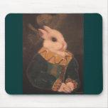 La pintura del conejo tapete de ratón