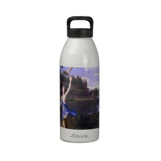La pintura del Cupid y de la psique de Colombel am Botella De Agua Reutilizable