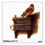 La pintura del Goldfinch de Carel Fabritius