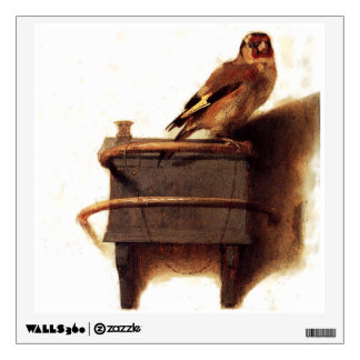 La pintura del Goldfinch de Carel Fabritius Vinilo