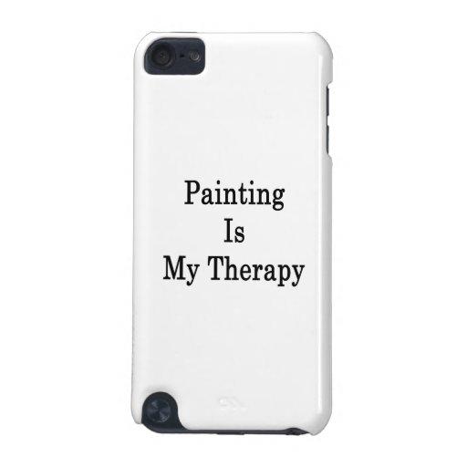 La pintura es mi terapia funda para iPod touch 5G