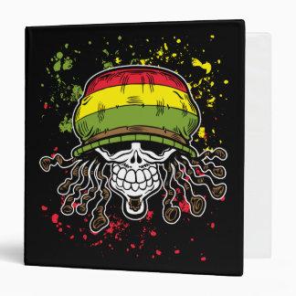 La pintura jamaicana del cráneo del pelo de Rolls