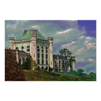 La pintura PSICA del hospital (impresión de la lon Póster