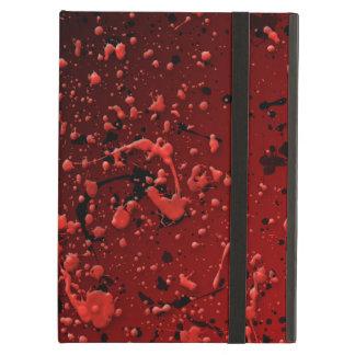 La pintura sangrienta del gótico macabro salpicó r