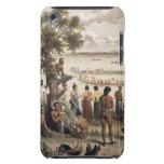 La piragua compite con en el río de Bassac, detall iPod Case-Mate Protectores