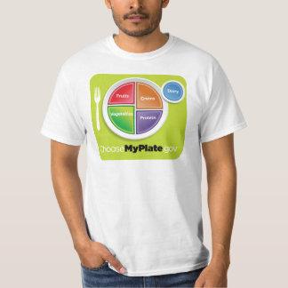 La pirámide de alimentación 2011 elige mi camisa