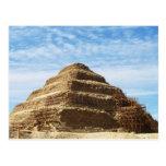 La pirámide de Djoser - Saqqara, Egipto Postal