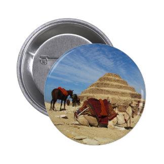 La pirámide de Djoser (Zoser) con el camello Pin