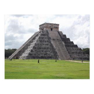 La pirámide de Kukulcan 3 Tarjeta Postal