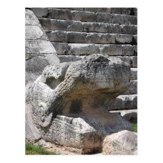 La pirámide de Kukulcan (EL Castillo) Tarjeta Postal