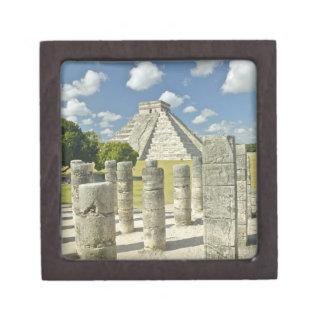 La pirámide de Kukulkan Caja De Recuerdo De Calidad