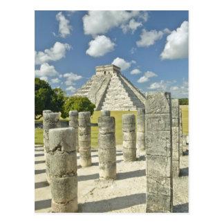 La pirámide de Kukulkan Tarjeta Postal