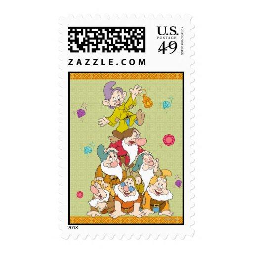 La pirámide de siete enanos sello postal