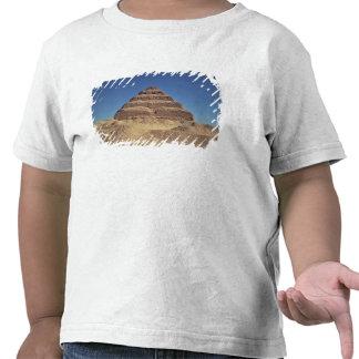 La pirámide del paso de rey Djoser c 2630-2611 A Camiseta