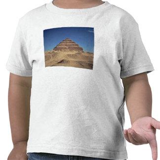 La pirámide del paso de rey Djoser c 2630-2611 A Camisetas