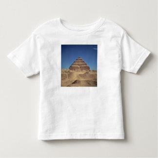 La pirámide del paso de rey Djoser, c.2630-2611 Playera De Bebé