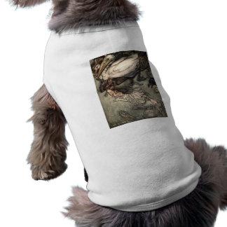 La piscina de rasgones camisas de mascota