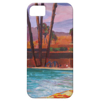 La piscina del Palm Springs Funda Para iPhone 5 Barely There
