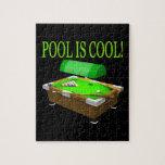 La piscina es fresca puzzle con fotos