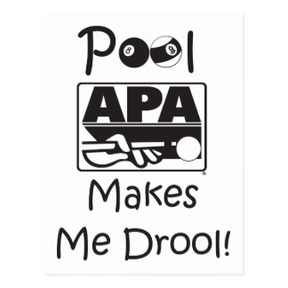 La piscina hace que Drool Tarjetas Postales