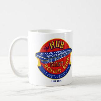 La pista Chicago/Norridge Illinois del rodillo del Tazas De Café